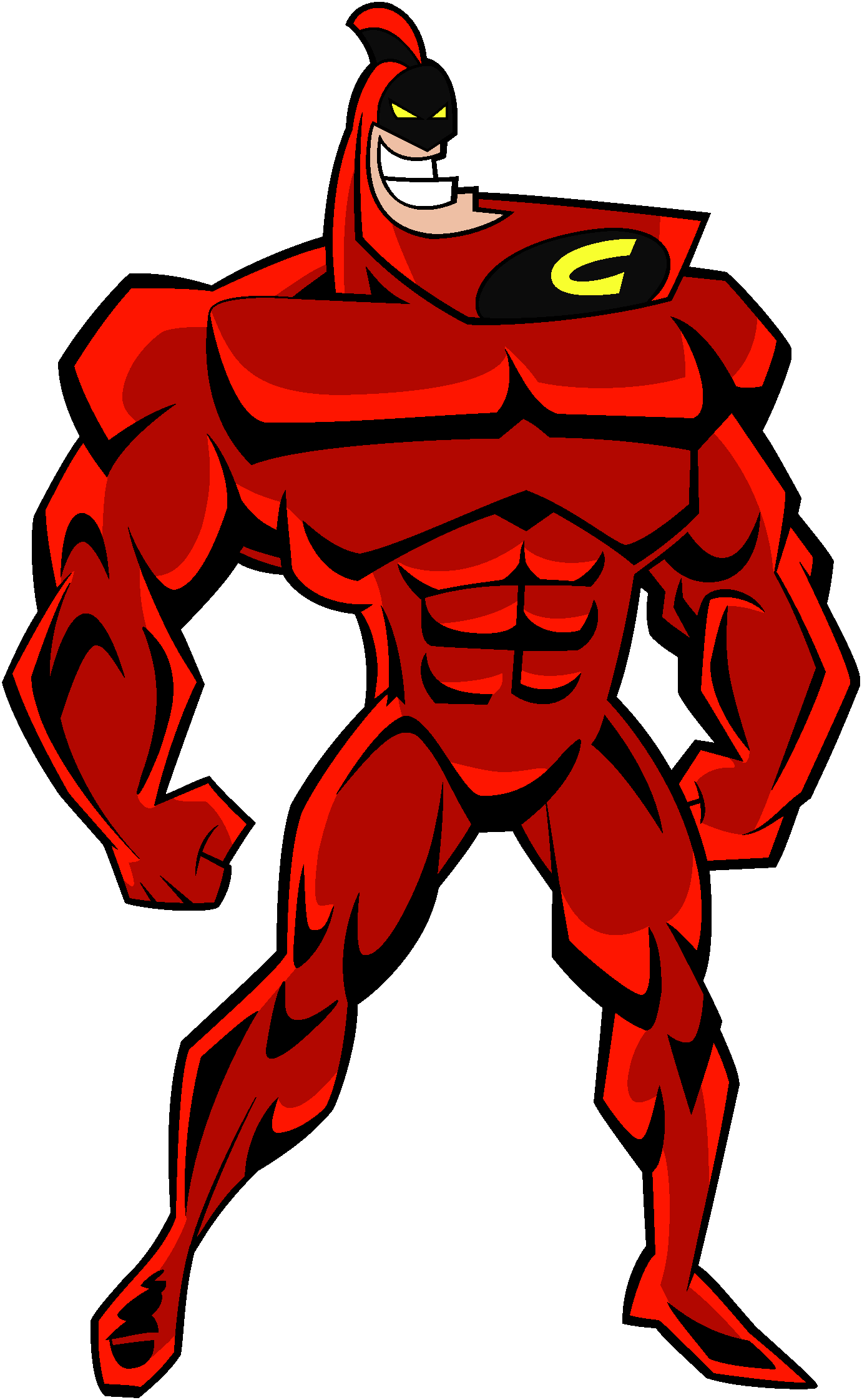 Crimson Chin  The All New Fairly Oddparents