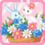Fancy Flower Rabbit