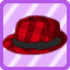 SFG Elegant Plaid Hat