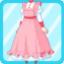 PBK Long Maid Uniform pink