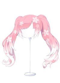 HAIR WindblownPigtailsSakura