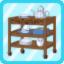 PBK Teatime Cart blue