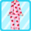 SFG Strawberry Pajamas pink