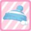 LE KnitPom-PomHatblue