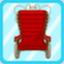 SSG Retro Wheelchair red