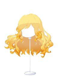 HAIR WindblownWavesYellow