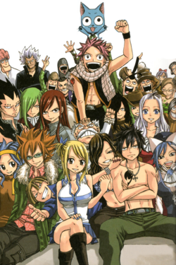 Fairy Tail Members