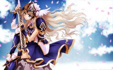 Warrior girl female anime-hd-wallpaper--animefullfights.com-