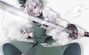 Touhou-katana-weapons-ghosts-Konpaku-Youmu-anime-girls-1050x1680
