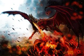 Art-dragon-monster-wings-hellfyre-fire-flame-dragon
