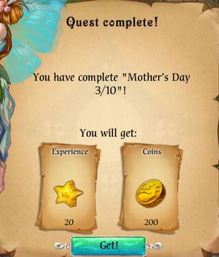 Fairy Kingdom --Mother's Day 3 of 10 reward