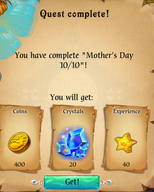 Fairy Kingdom --Mother's Day 10 of 10 reward