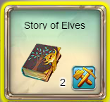 Fairy Kingdom --Elven Magic 8 of 14 task (Story of Elves translation in inventory)