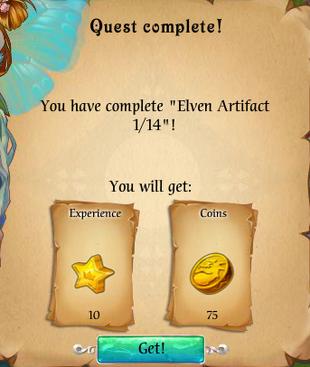Fairy Kingdom --Elven Magic 1 of 14 reward