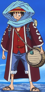 Luffy's Alabasta Arc Outfit