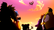 Samuel runs into Gajeel and CO looking for clock piece