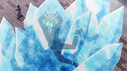 Hibiki frozen by Gray