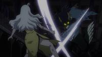 Seilah attacking Mirajane