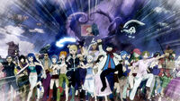 Edolas Fairy Tail goes into battle