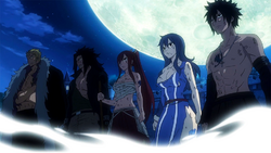 Fairy Tail stands before Sting