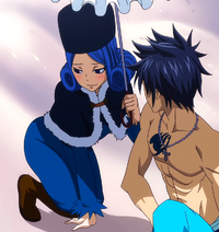 Juvia covers Gray