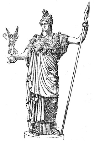 Minerva's Statue