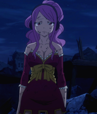 Meredy's reaction to Gray's death
