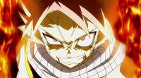 Natsu angry at Fukuro