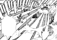 Gray attacks the soldiers