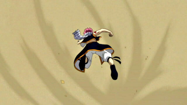 File:Natsu caught by Sand Bomb.JPG