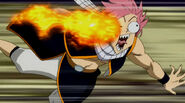Natsu cannot control his own flame