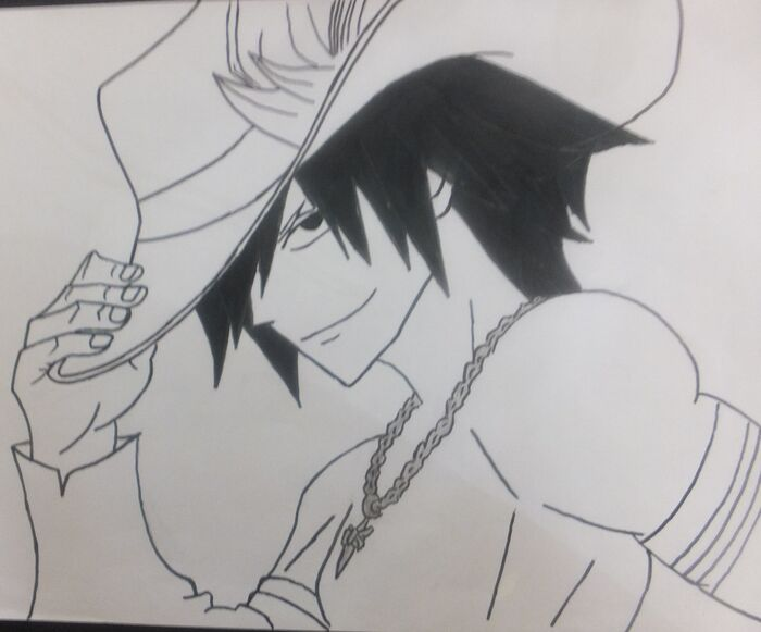 Fanart of Gray Fullbuster by ~~Lord Zeref~~