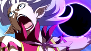 Angry demon Mirajane