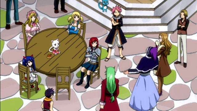 File:The guild discussing with the Raijinshuu.png