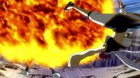 Natsu attacks Yuka
