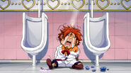 Ichiya beaten in the toilet