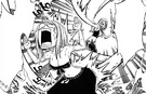 Juvia using water cane on Lucy