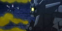 Blue Pegasus vs. Rock Dragon