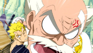 Makarov yells at Laxus