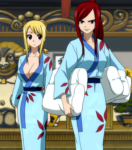 File:Erza and Lucy in yukatas.png