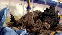 Natsu beats Vanish Brothers