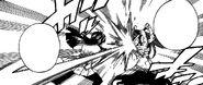 Kagura and Erza Sword Clashing