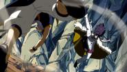 Natsu defeats Midnight