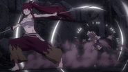 Erza defeats Kyôka
