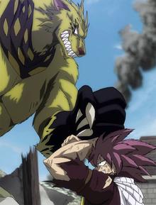 Etherious Jackal attacks Natsu.png