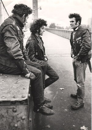 Rockers on Chelsea Bridge