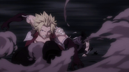 Sting and Rogue battle Demon Jiemma