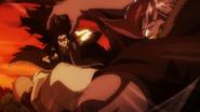 Gajeel attacks Torafuzar