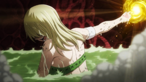 Lucy summons her third spirit.png