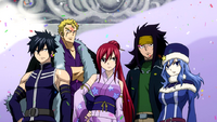 Team Fairy Tail on 5th Day
